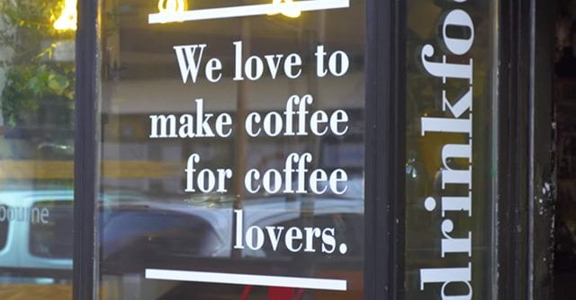 Budapest coffee shop