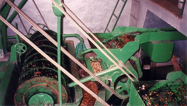 Machinery for washed coffee processing