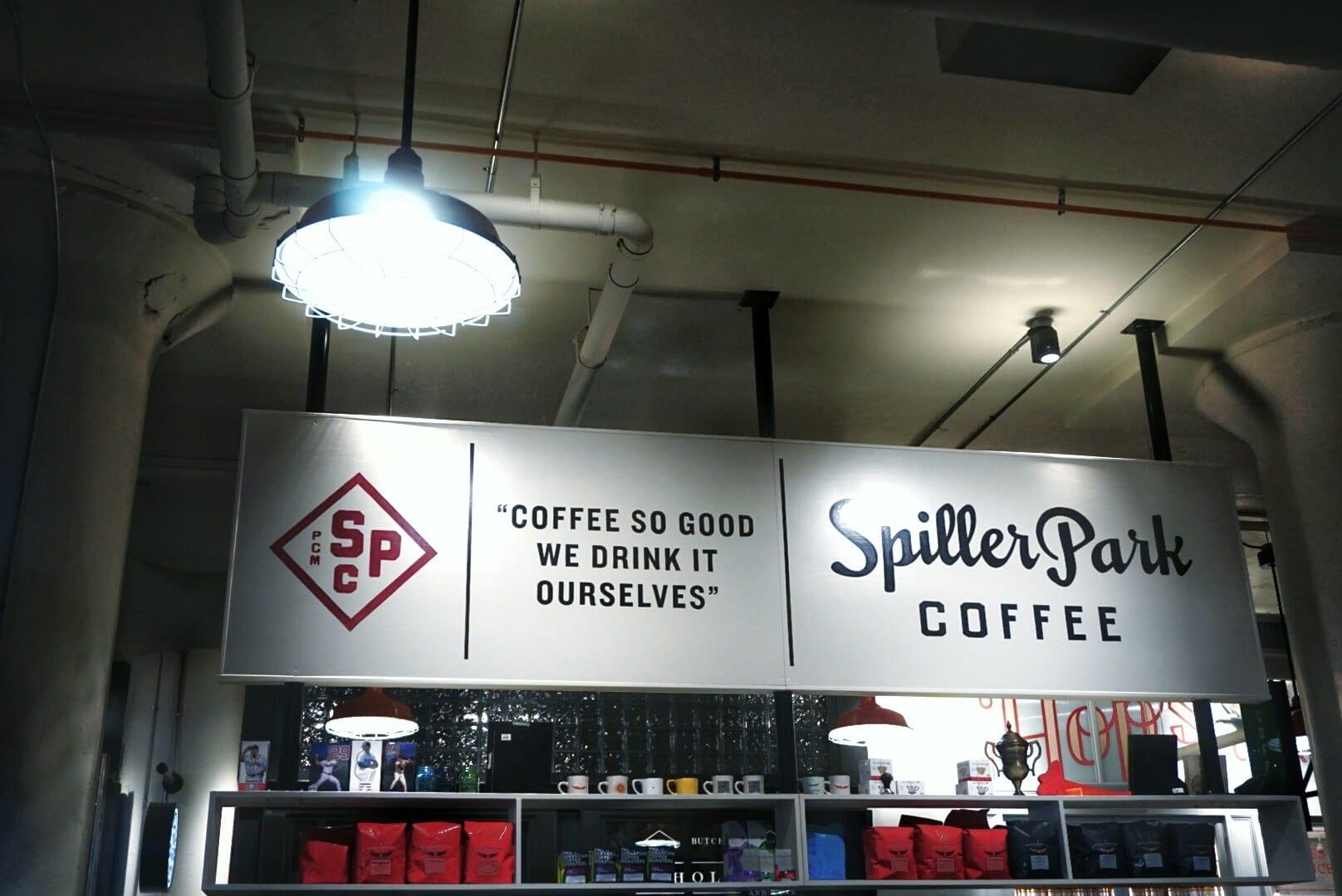 spiller park coffee logo