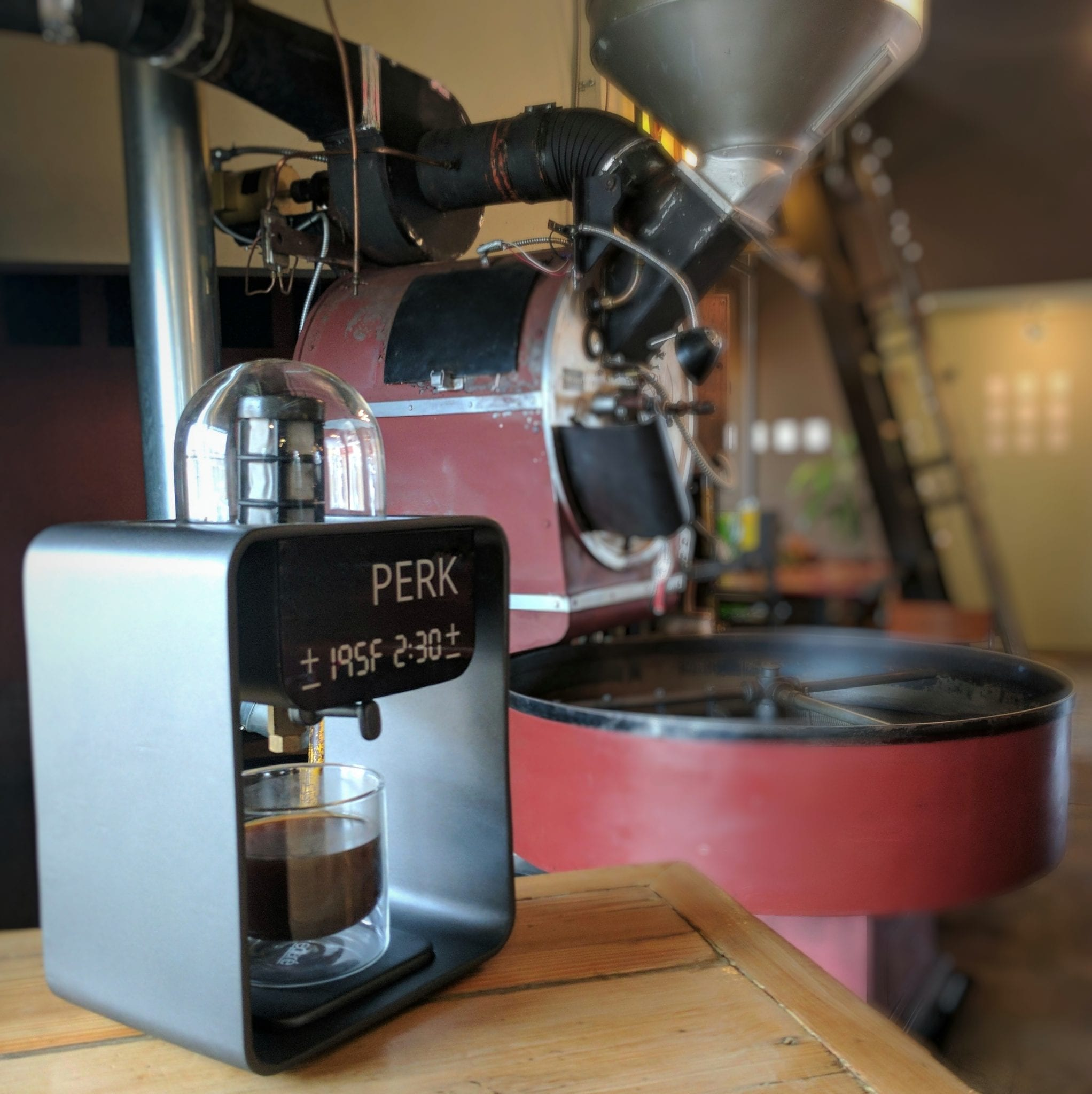 PERK coffee machine in fr