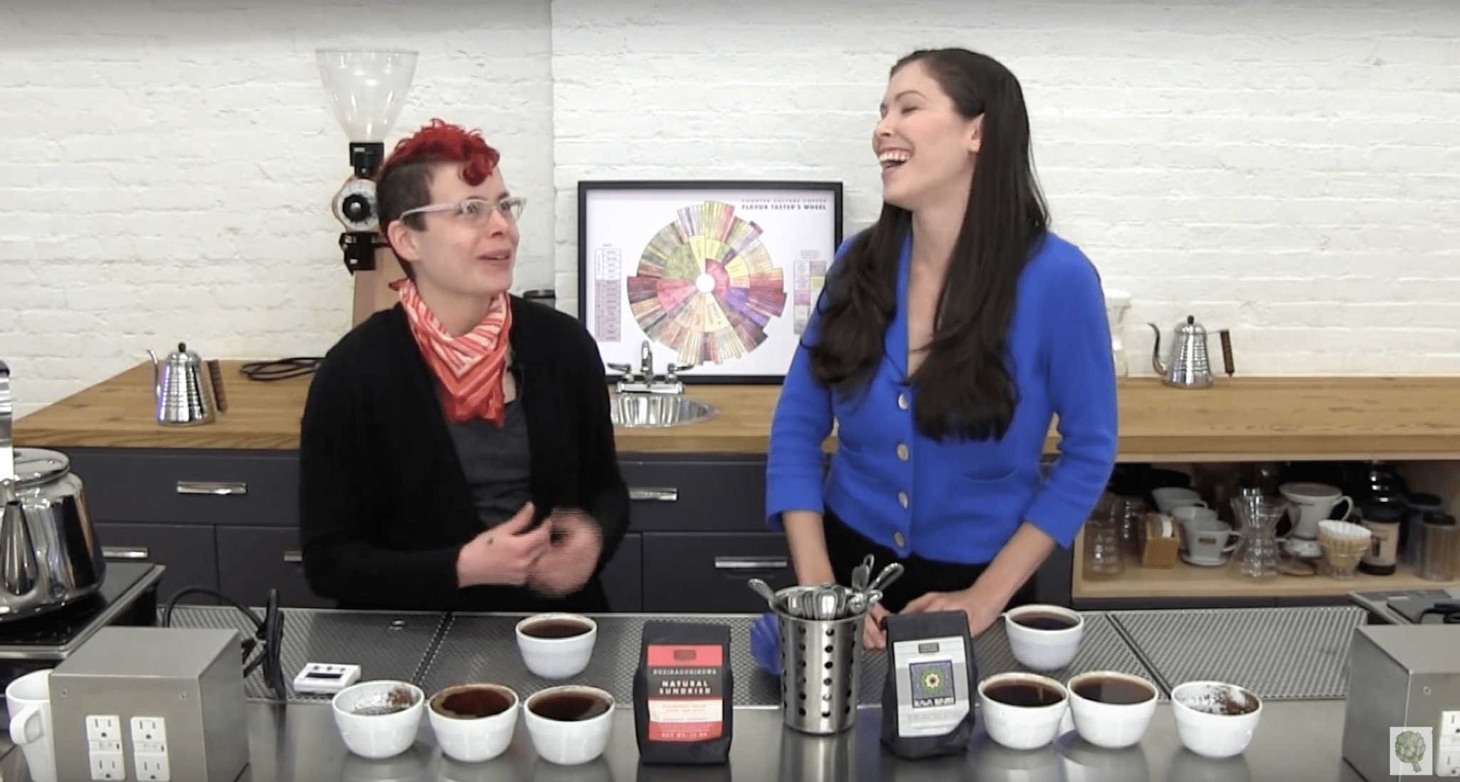 counter culture tasters flavor flavour cupping wheel
