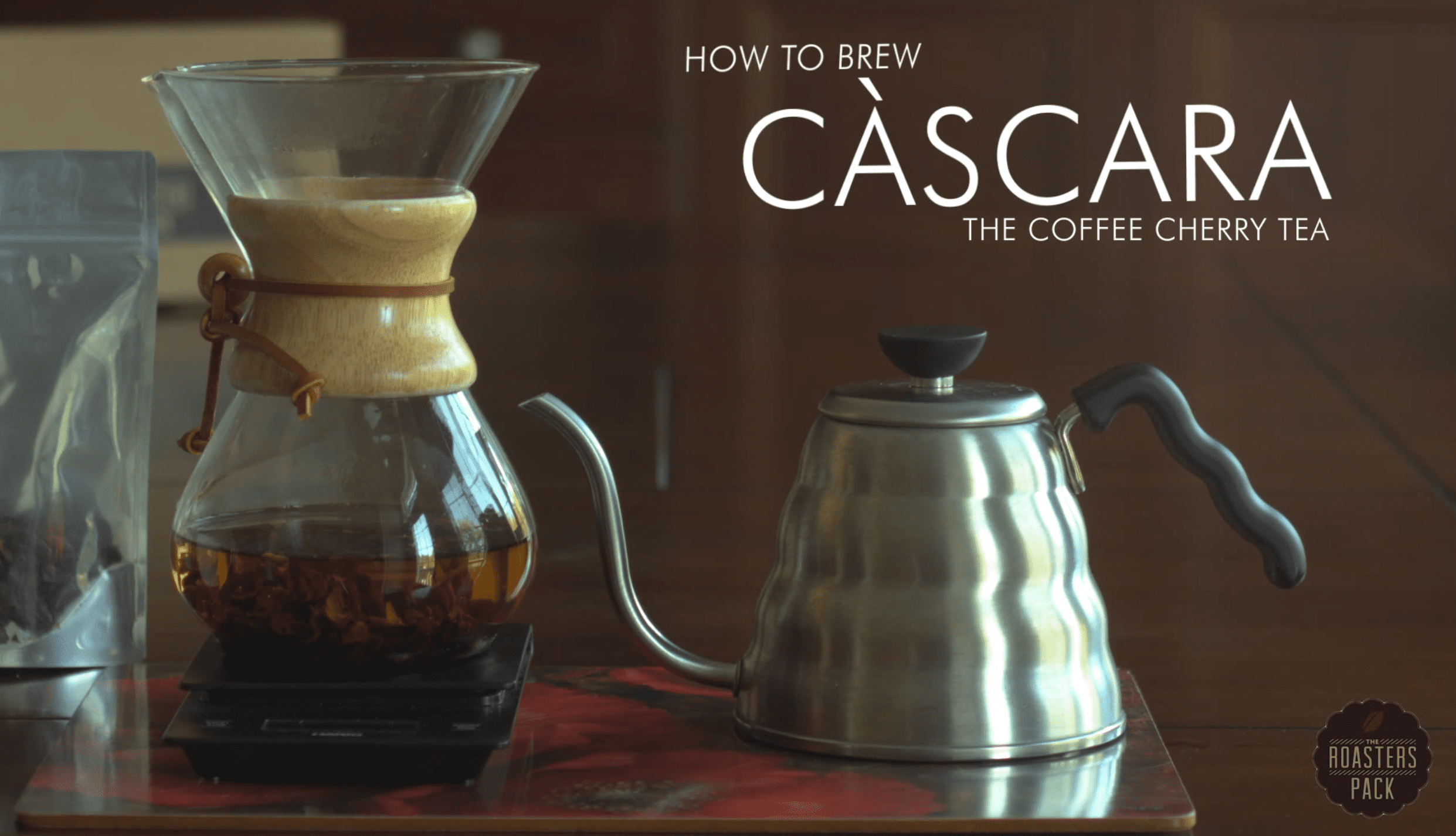 cascara coffee cherry tea brewing guide
