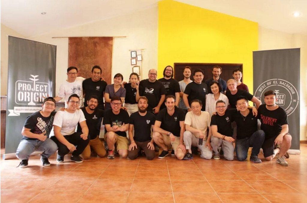 project origin coffee auction team