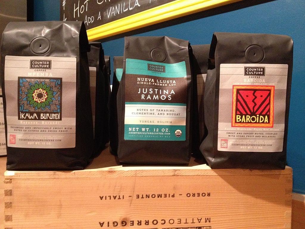 Retail coffee bags
