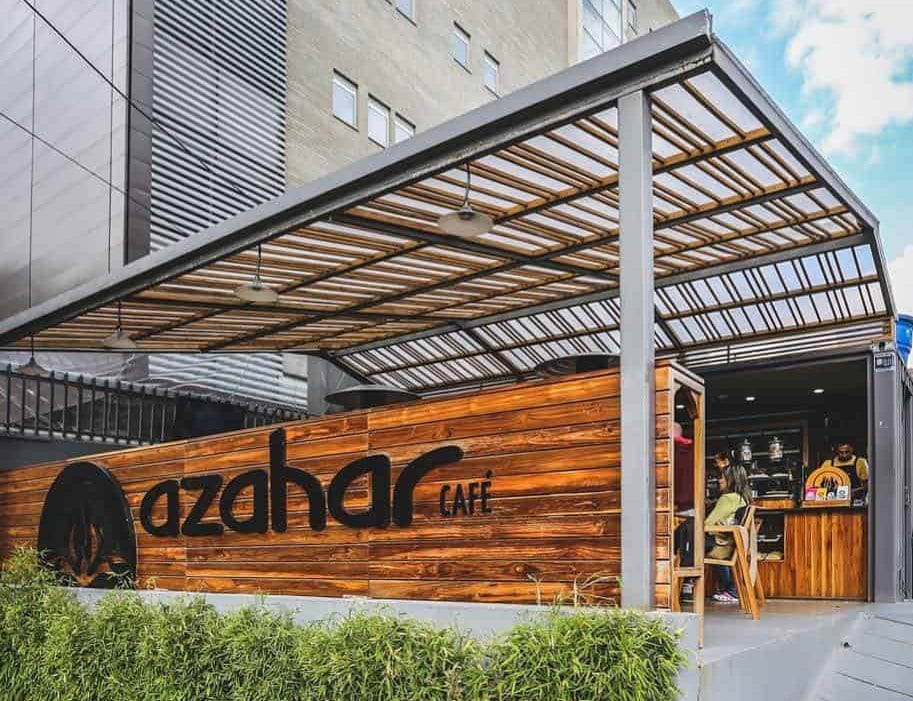 Azahar, a specialty café in Bogotá