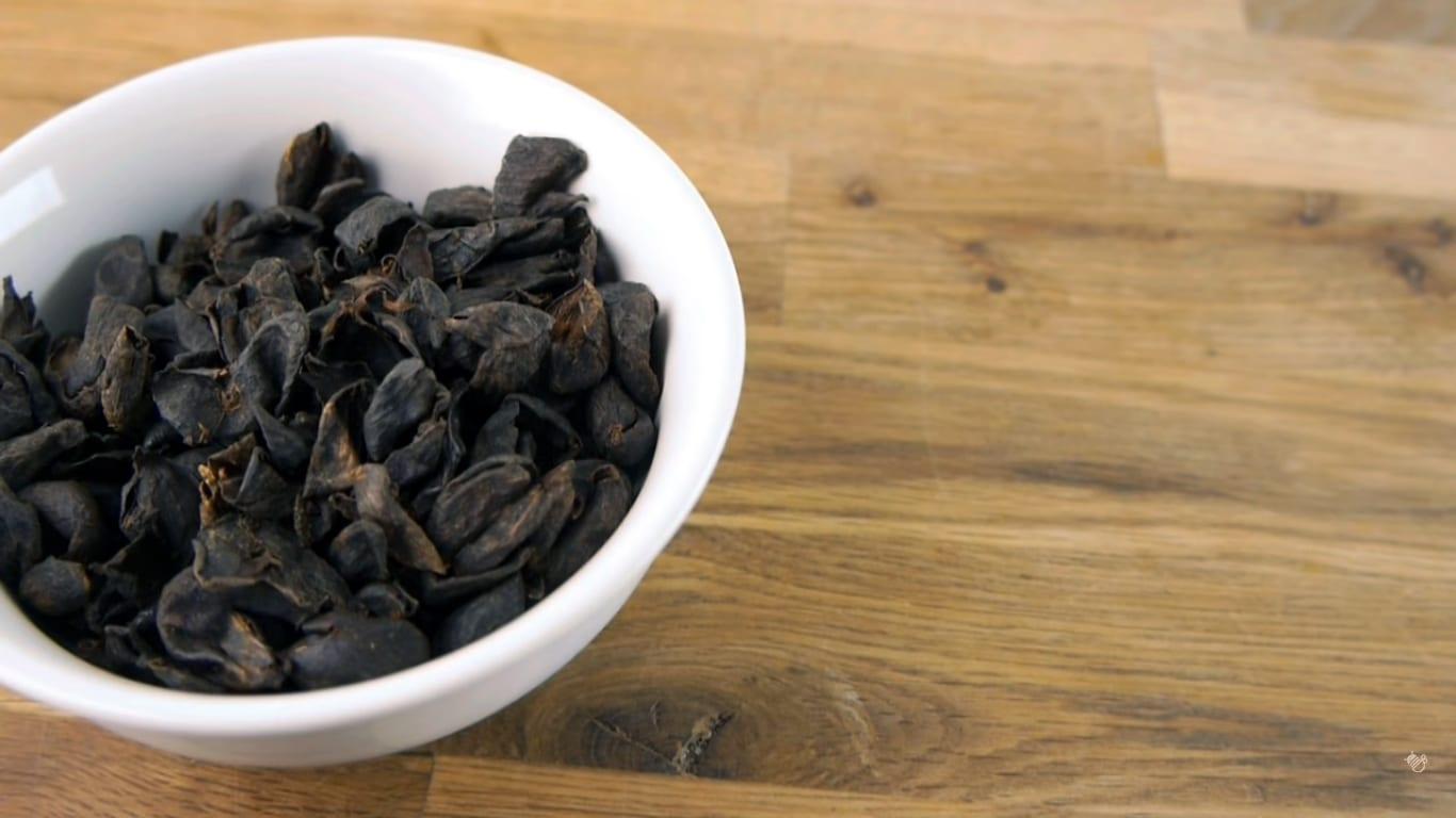 Cascara, dried coffee cherries
