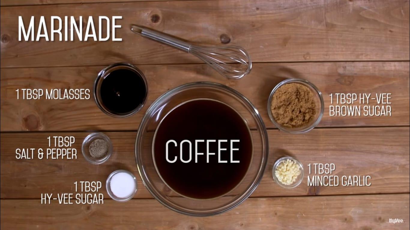 coffee marinade ingredients
