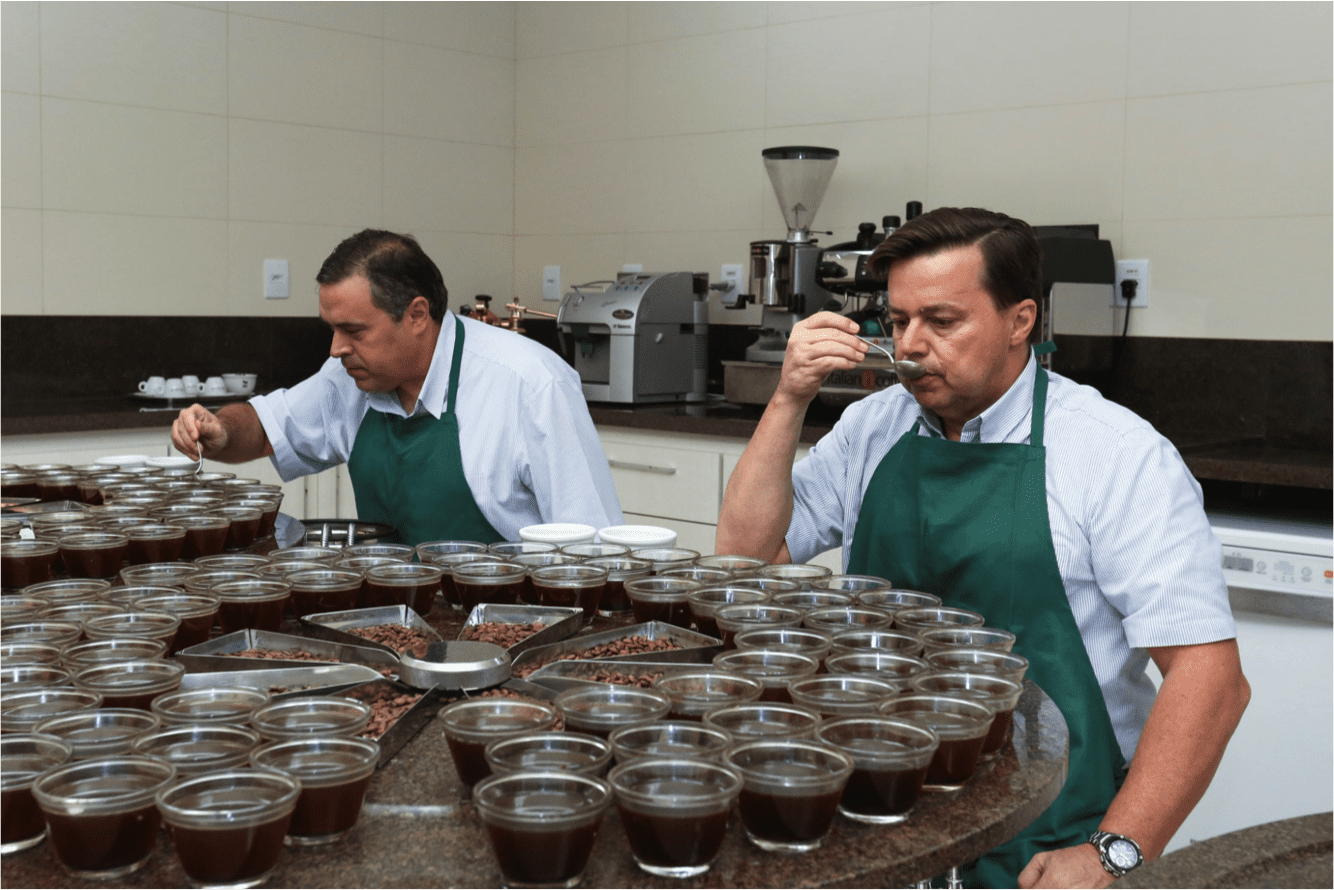 cupping lab in brazil specialty coffee