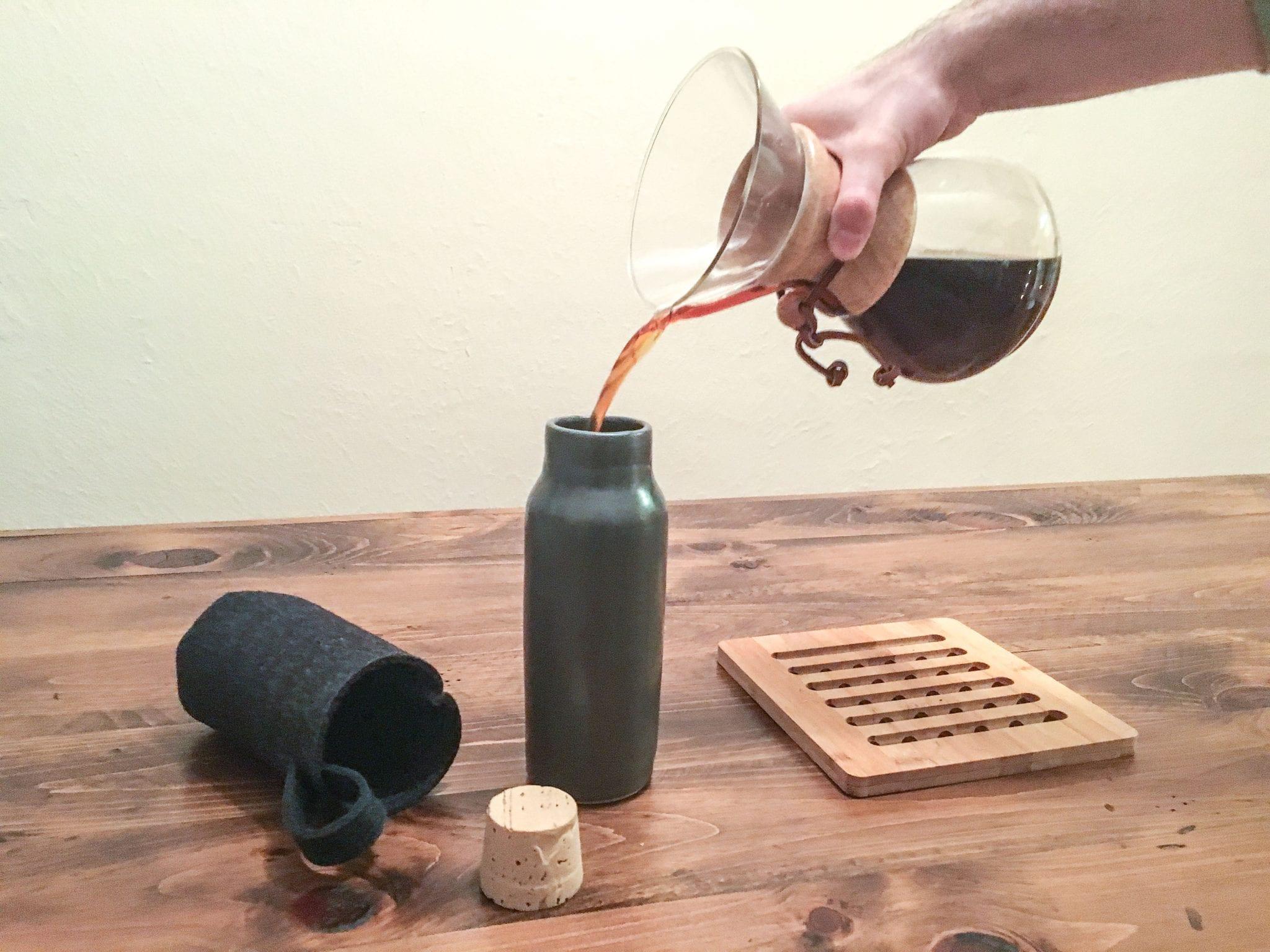 Finch coffee flask