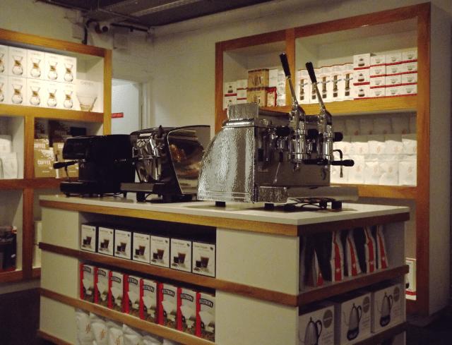 coffee retail
