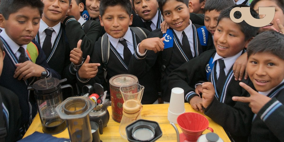 'How to Brew' coffee for kids in Oruro, Brazil - Perfect Daily Grind Specialty Coffee Blog