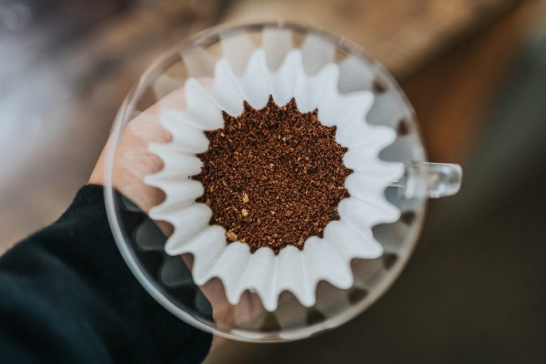 café moído na hora