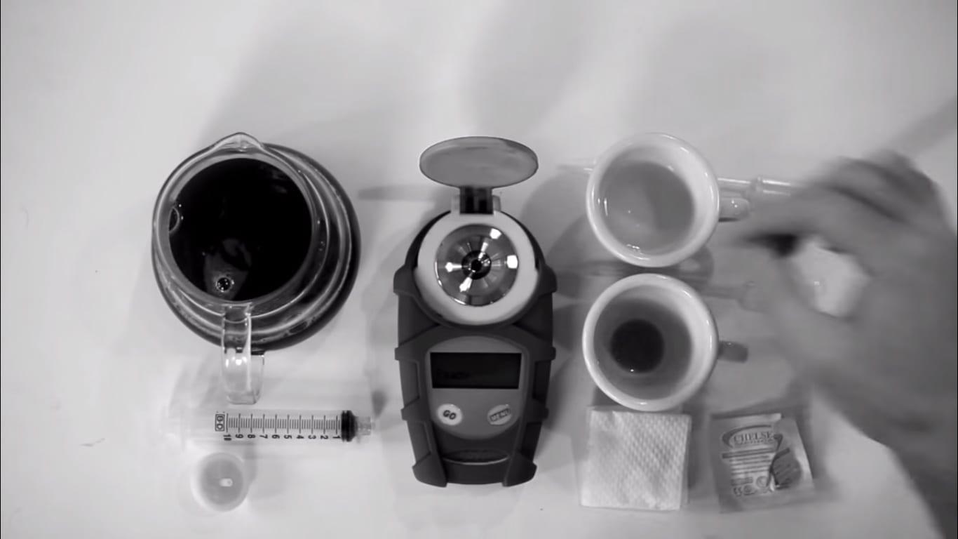 coffee VST refractometer