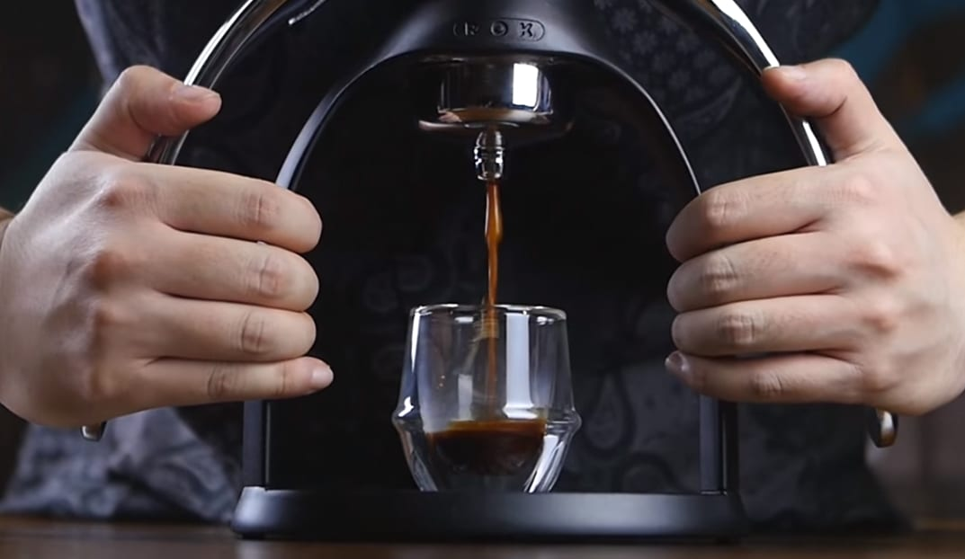 The ROKPresso in action