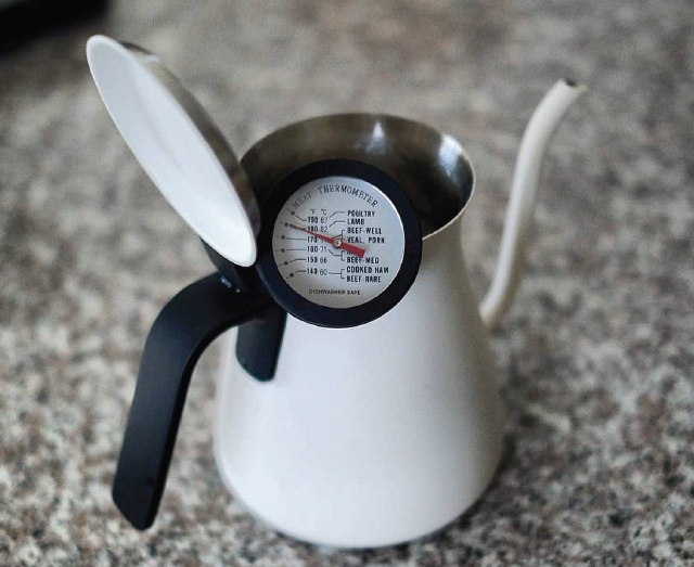 Pouring kettle used for manual brewing