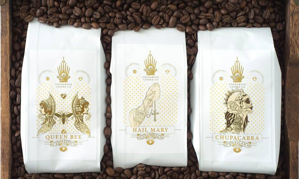 Roasted coffee bags