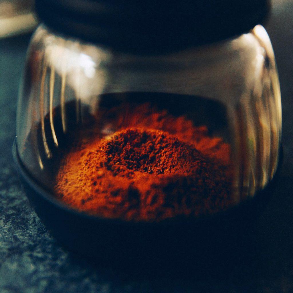 café recém-moído