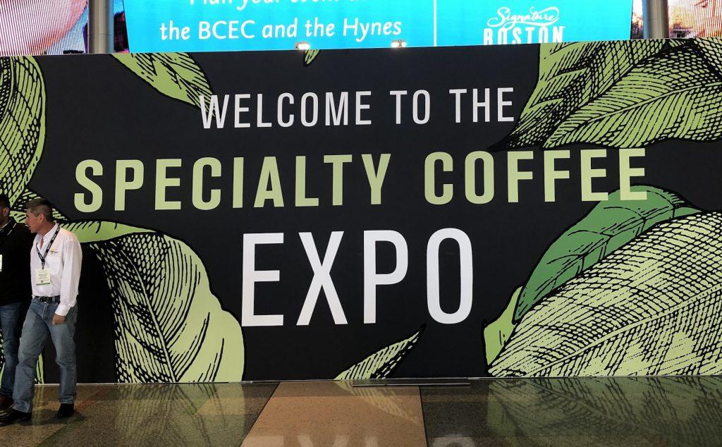 feria de cafe de especialidad en Boston