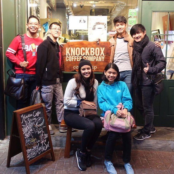 Jovenes baristas