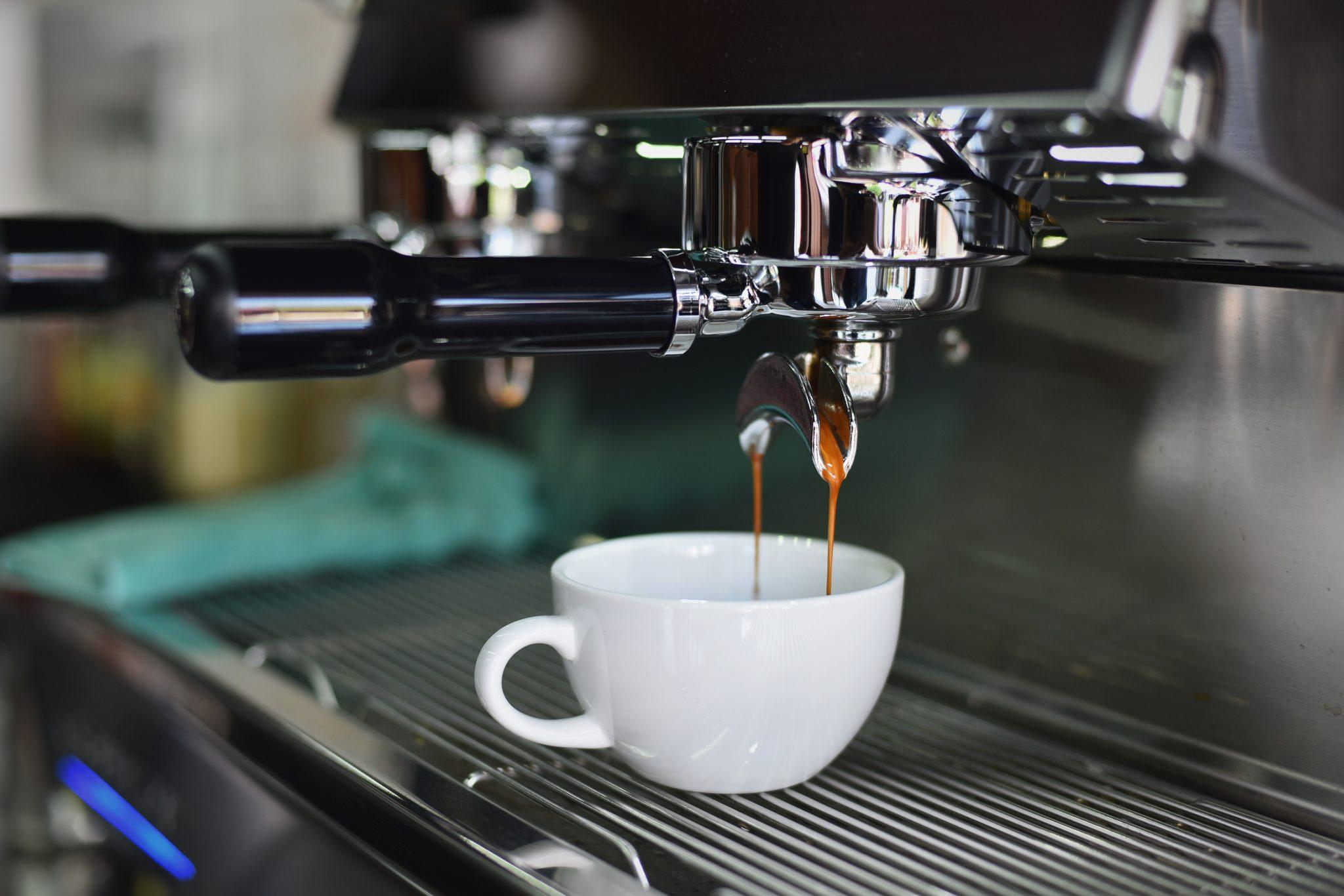 preparacion de un espresso