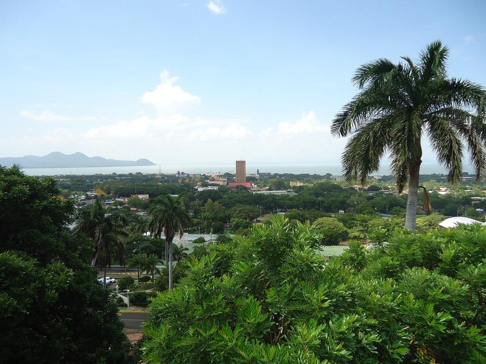 View of a Nicaraguan city