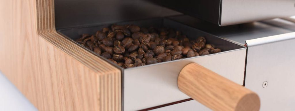 Sample of roasted beans