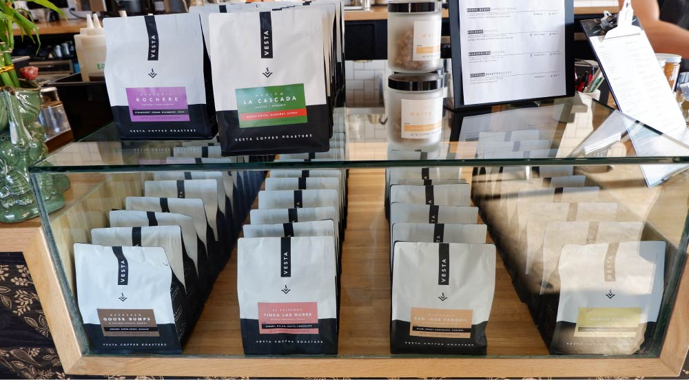 embalagens de café torrado
