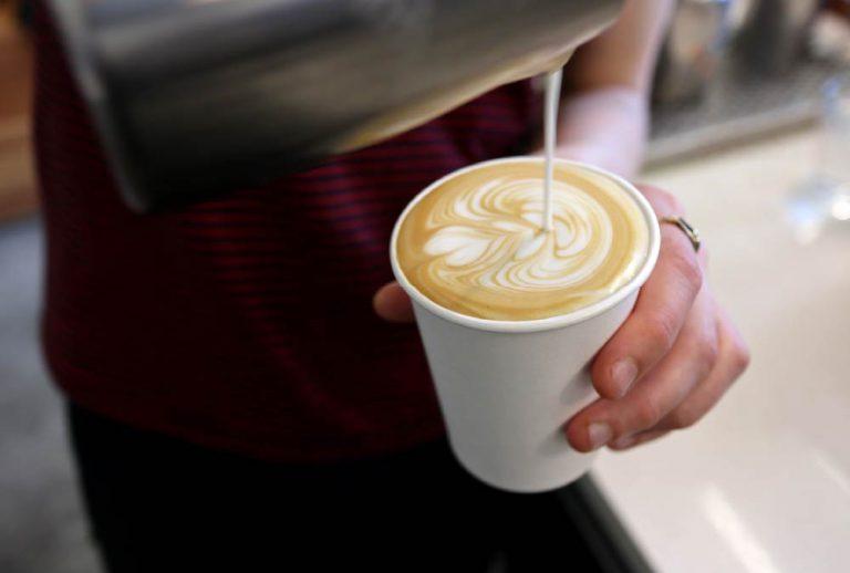 café na volta ao trabalho