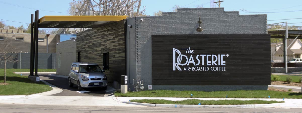 Entrace of a roastery