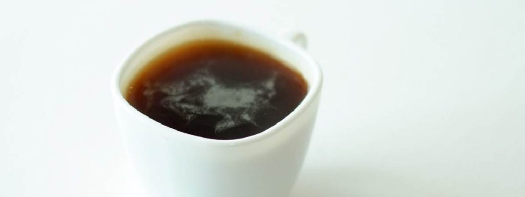 Americano in a white cup