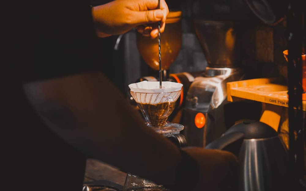 filter and espresso