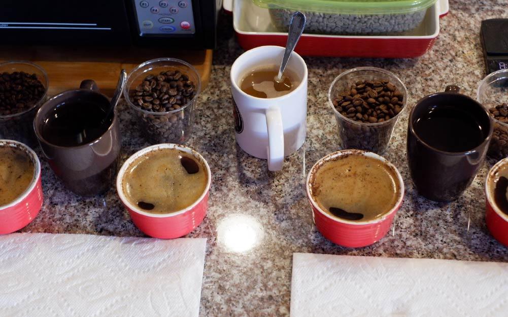 sabores de café