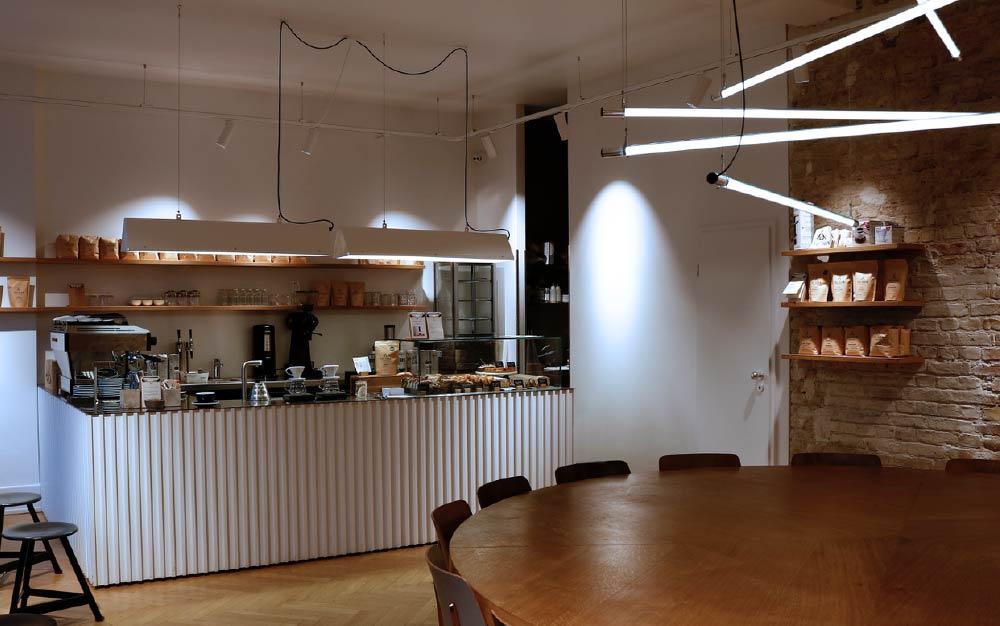 cadena de tiendas de café
