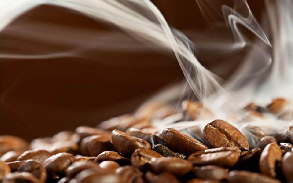 Café recém-torrado