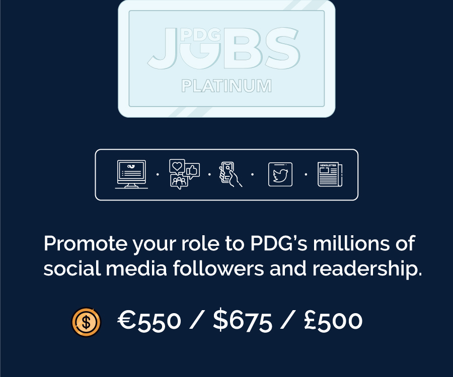 PDG jobs GOLD Membership