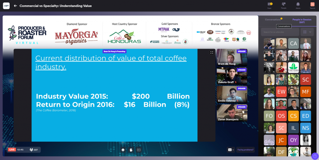 Virtual Producer & Roaster Forum 2021 - The largest coffee event in Honduras in the past decade