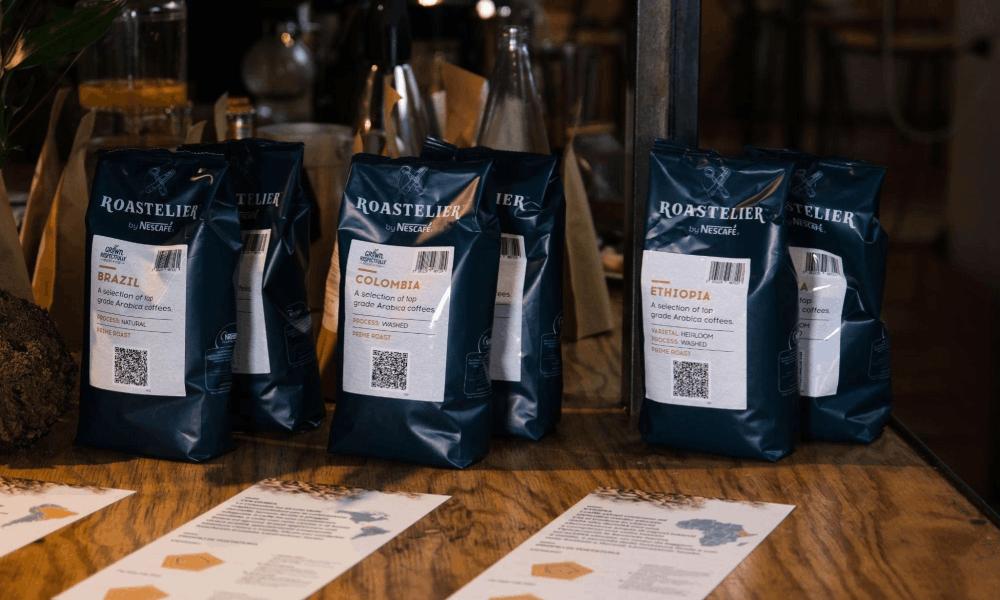 bags of roastelier coffee