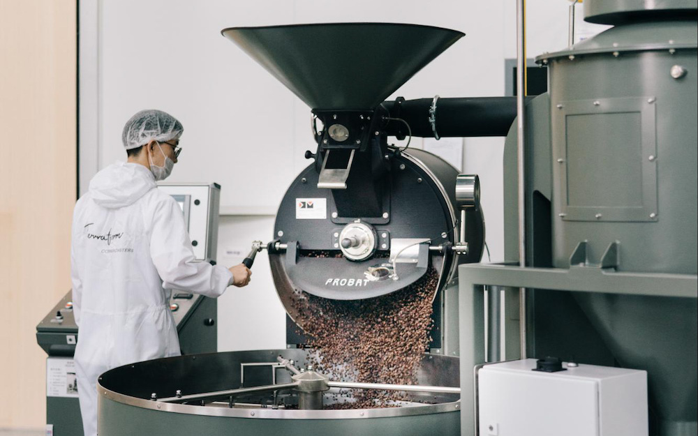 chinese coffee roaster